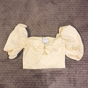 C/MEO Collective off the shoulder top - never worn
